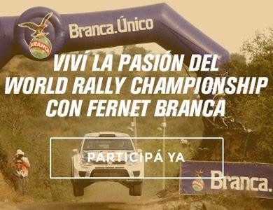 BRANCA WORLD RALLY CHAMPIONSHIP